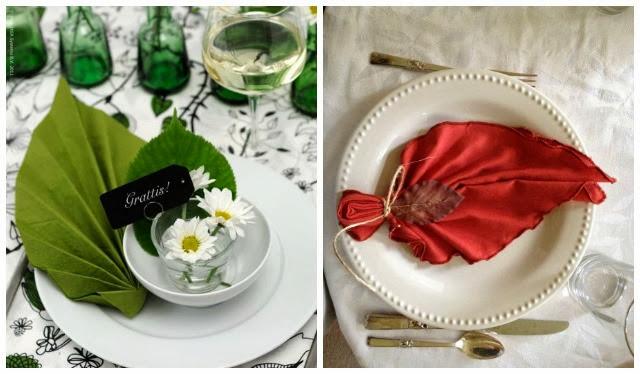 Ideas para la mesa c mo doblar servilletas iii a todo - Como doblar servilletas de tela ...