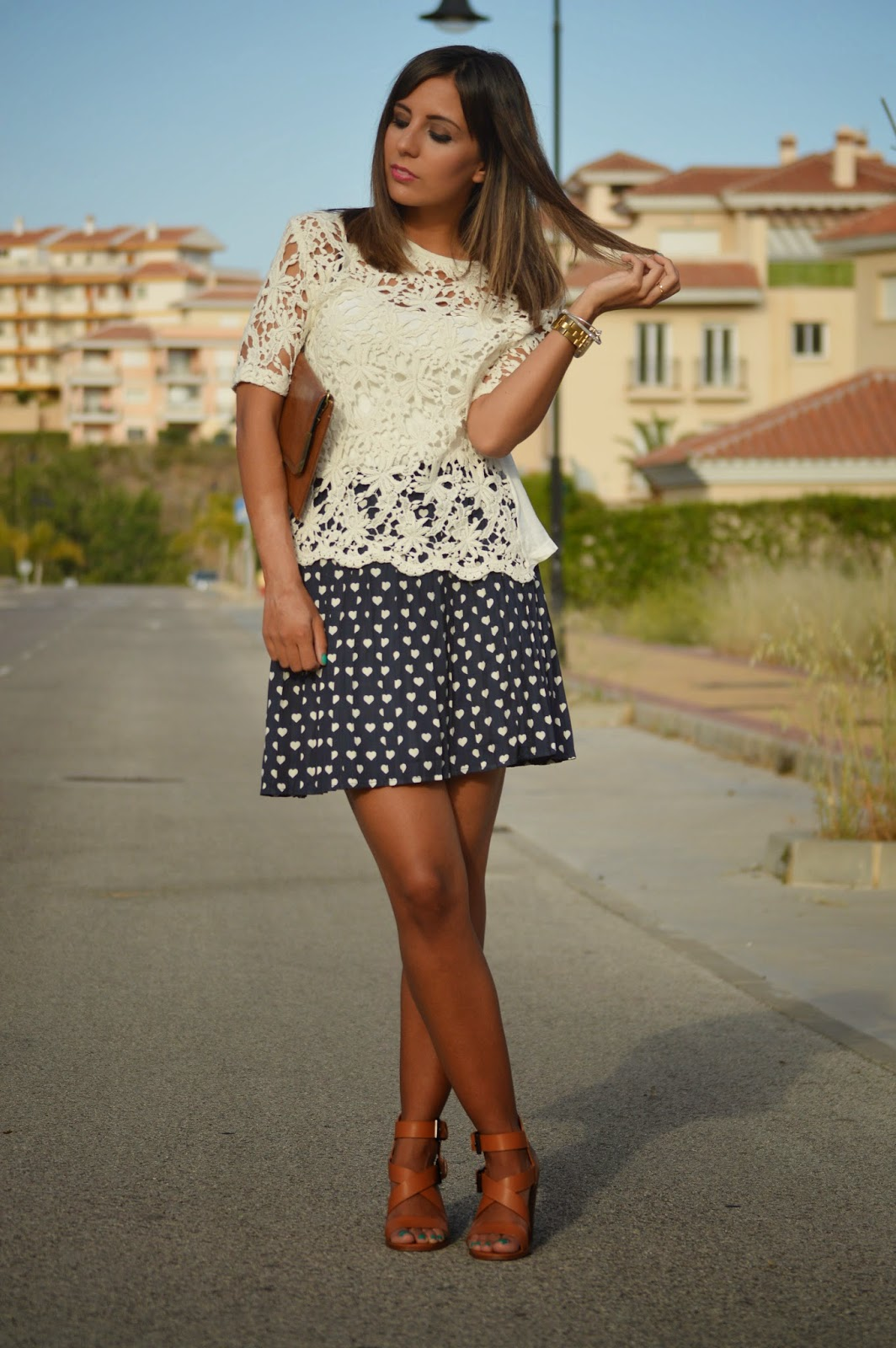 street style style fashion ootd cristina style fashion blogger malagueña blogger malagueña outfit look zara chic casual summer moda mood trend love girl me inspiration plaid skirt beauty styles stylish lovely nice