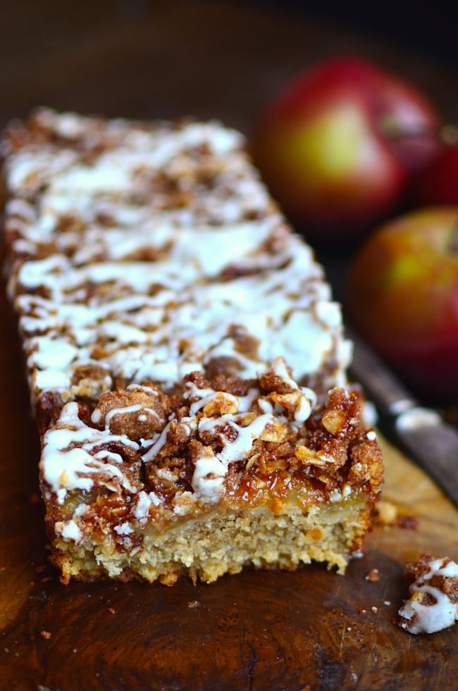 Oatmeal apple coffee cake recipe