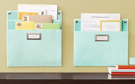 diy office supplies. i loved these wall mount folders so chic for organizing diy office supplies