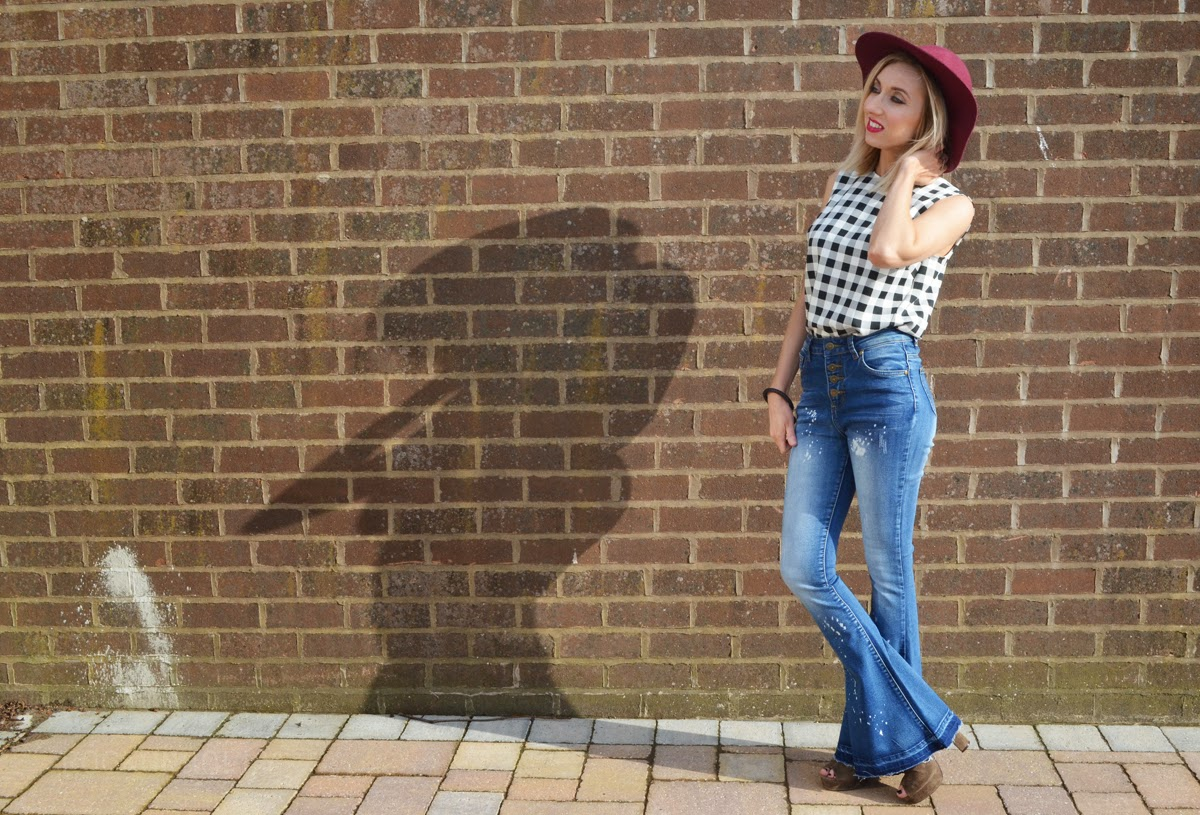 70s style outfit on Rock on Holly Blog
