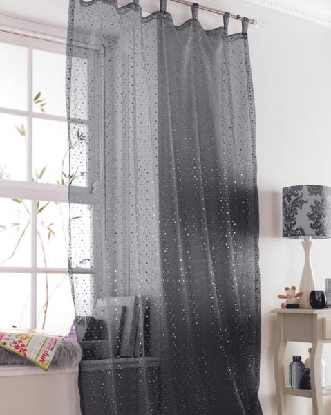 Feminine sheer and shimmery voile available in white pink and black