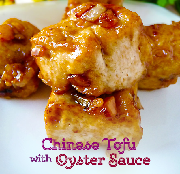 Chinese Tofu with Oyster Sauce Recipe