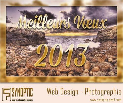 Synoptic Productions > Meilleurs vœux pour 2013