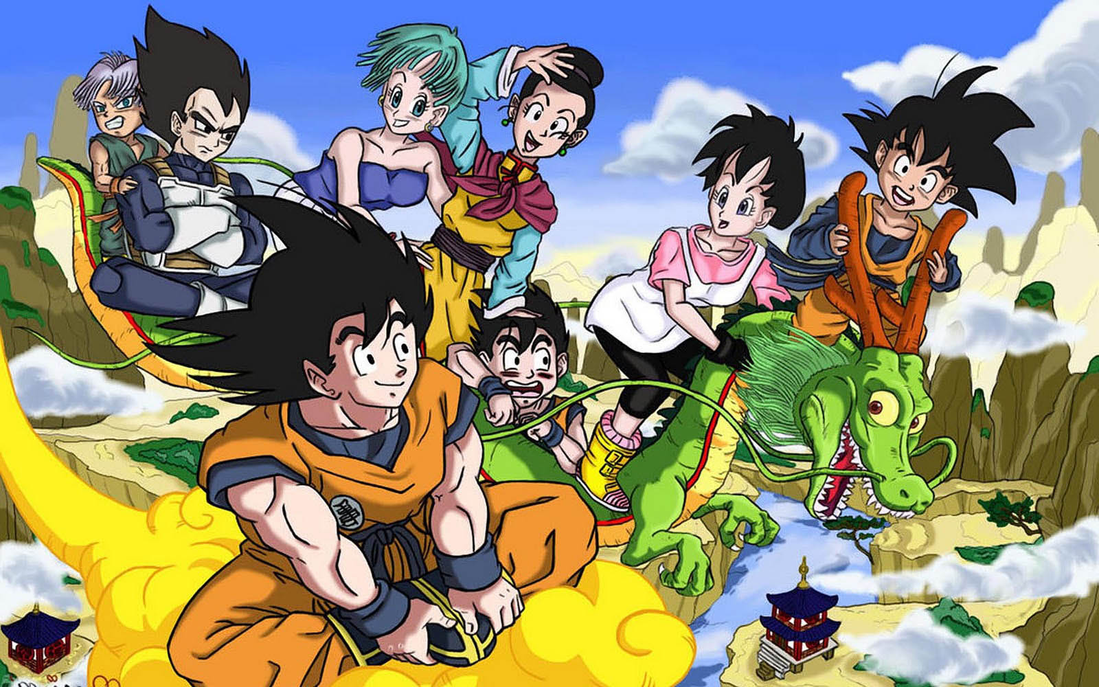 wallpapers dragonball wallpapers