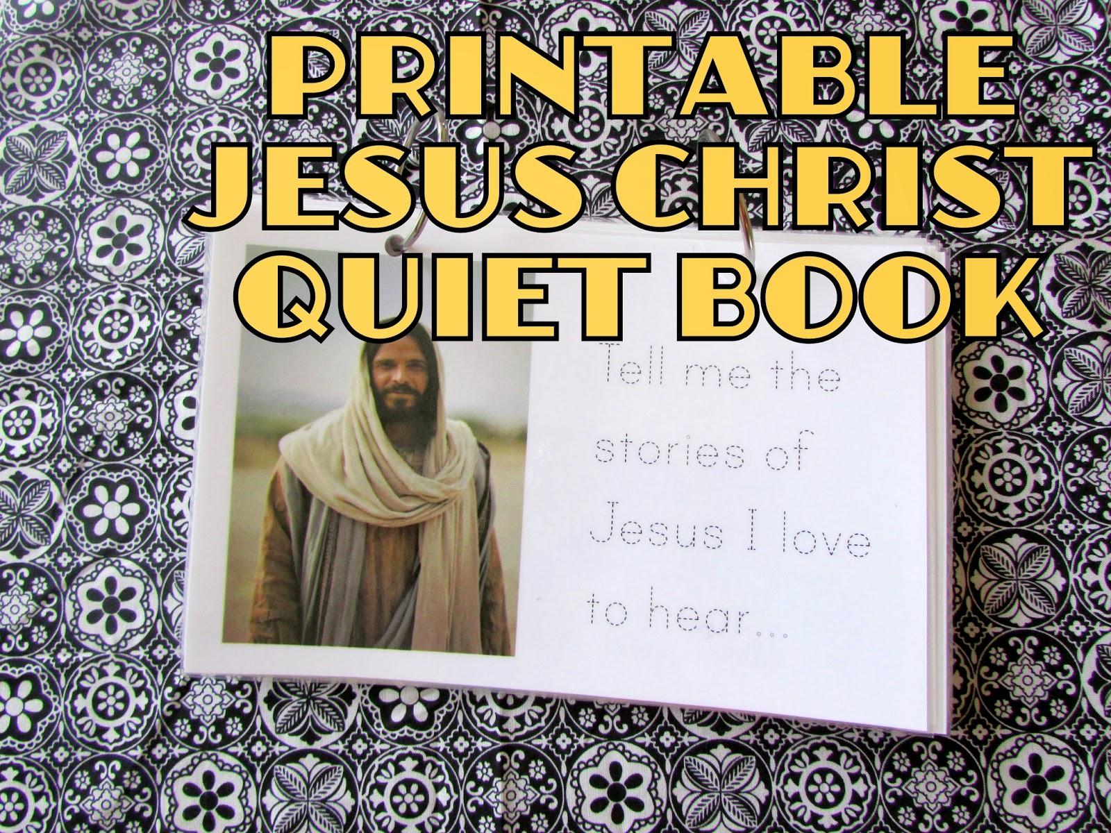 A Lively Hope: Jesus Christ Flipbook {FREE quiet book ...