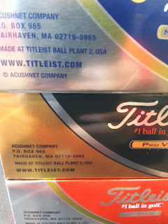 made in USA Titleist