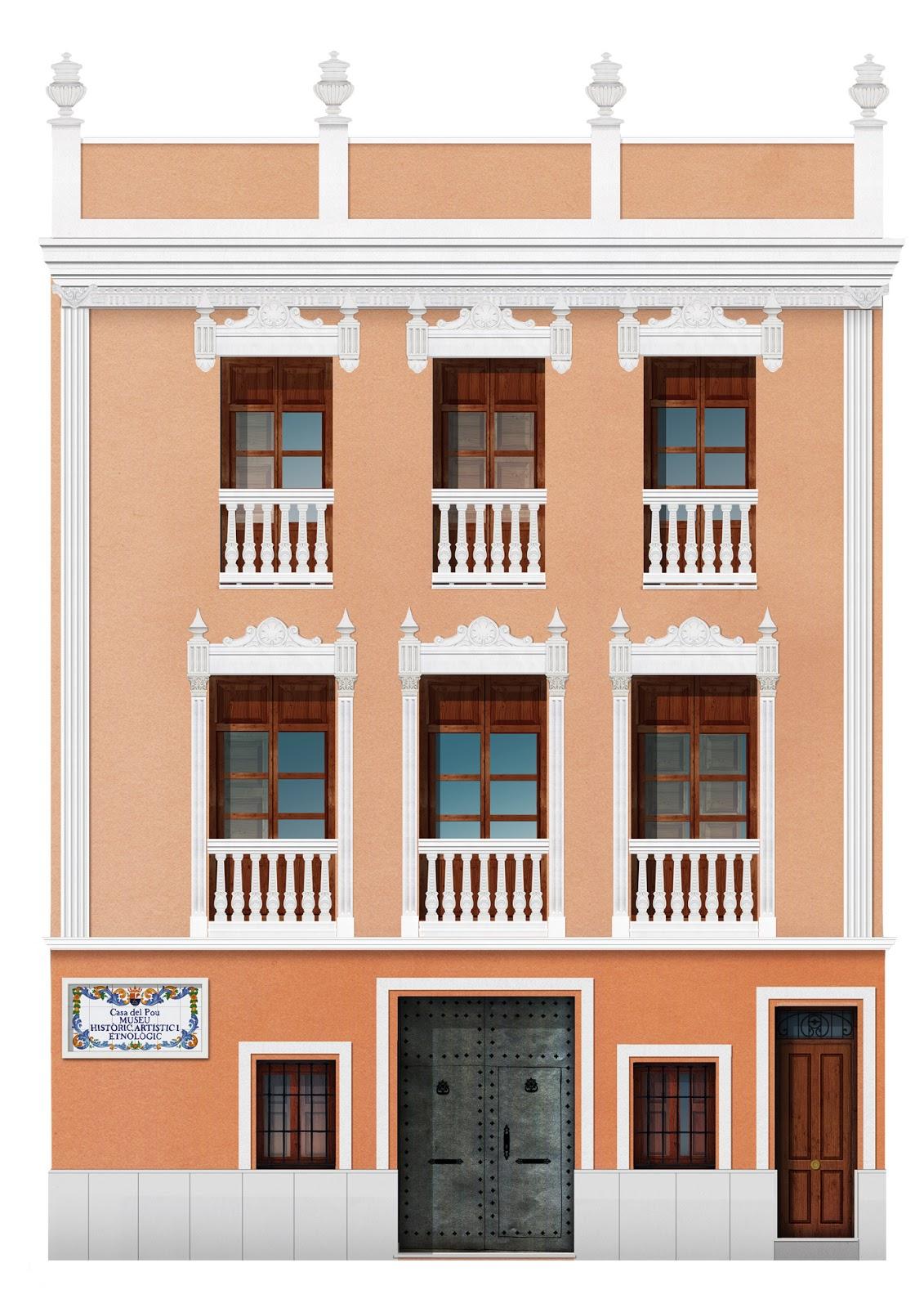 fachada, museo,  Llosa de Ranes
