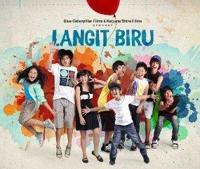 Film Indonesia: Langit Biru (film remaja yg mendidik)