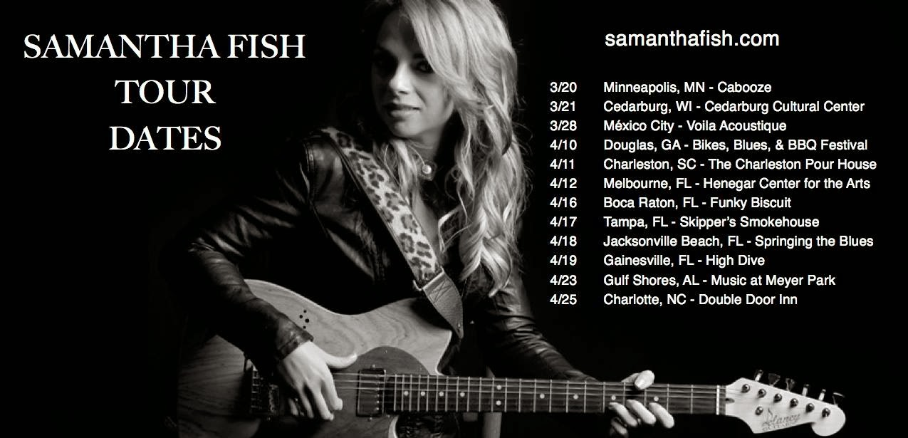 samantha fish latest us tour dates