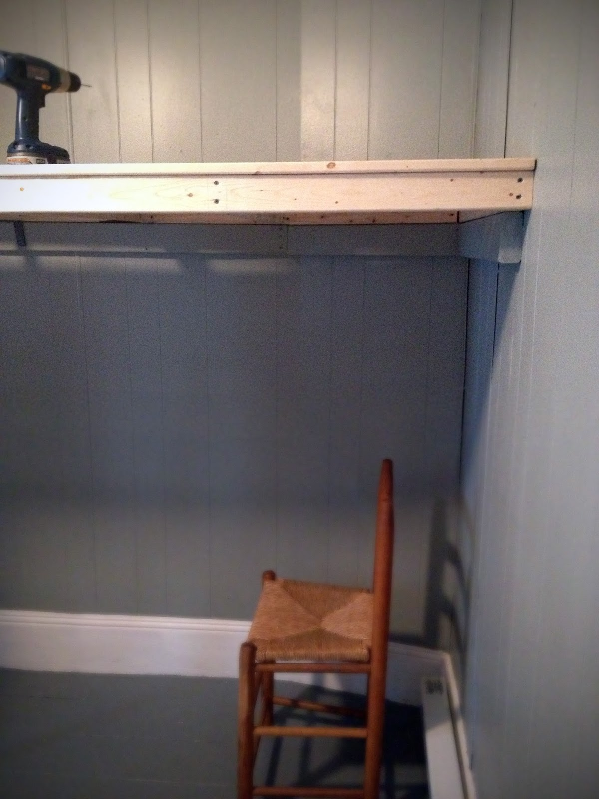 Diy Loft Bed Attached To Wall