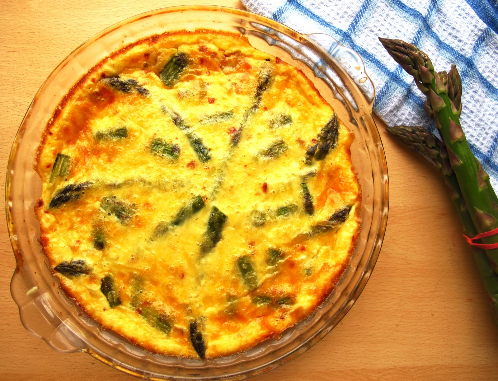 Mummy, I can cook!: Sambal Chilli Asparagus and Gruyere Crustless ...