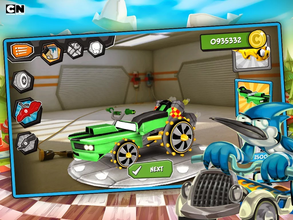 Formula Cartoon All-Stars v3.1 Mod [Unlimited Gold]