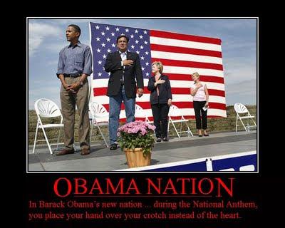 Obama disrespects America
