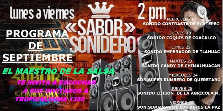 SABOR SONIDERO