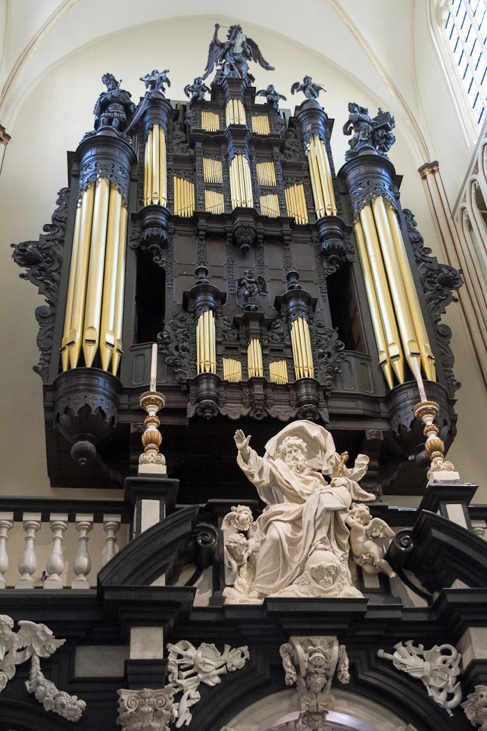 Órgano de la catedral de Brujas