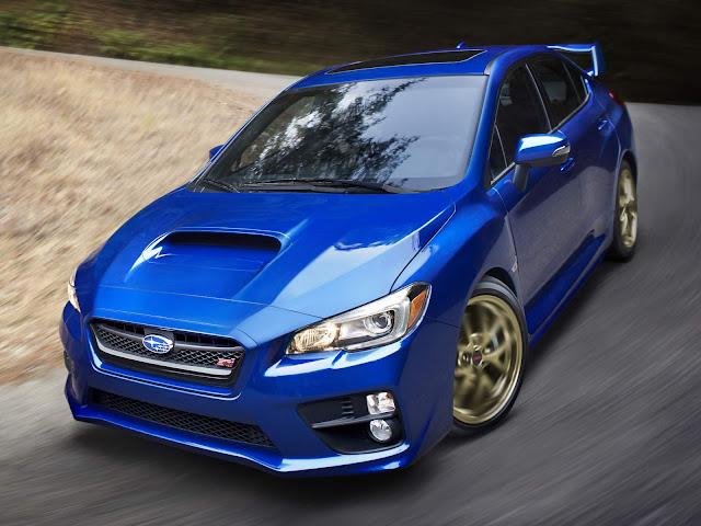 Novo Subaru WRX STi 2015