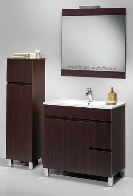 Muebles de lavabo baratos conjunto mueble de bao con for Muebles lavabo baratos