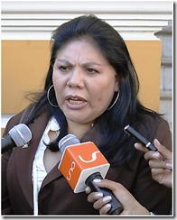 me reúno con quién me dé la gana. replicó Norma Piérola ante García Linera que cuestionó el viaje.