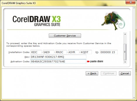 CorelDRAW X4 Serial + activation code Serial number