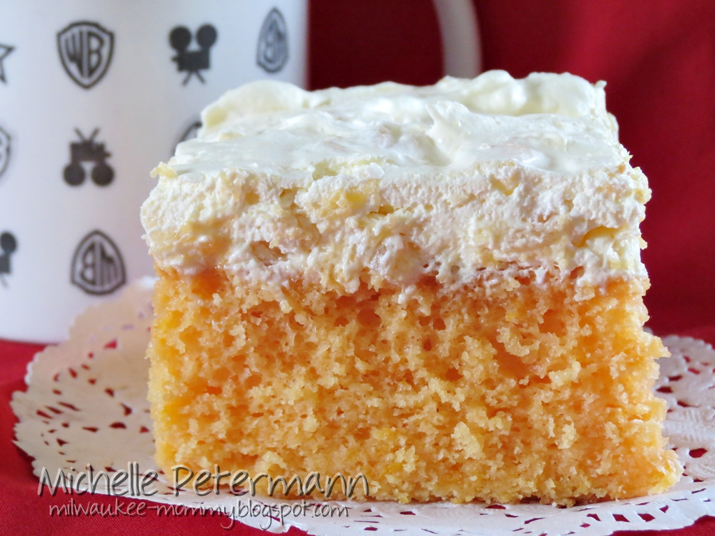 mandarin orange cake 1 box orange cake mix 4 eggs 1 cup vegetable oil ...