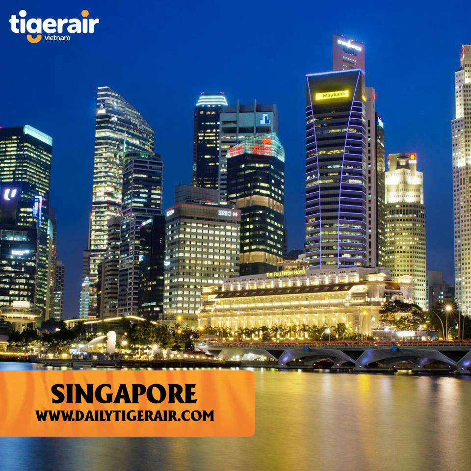 Ve may bay di Thai Lan va Singapore gia re Tigerair