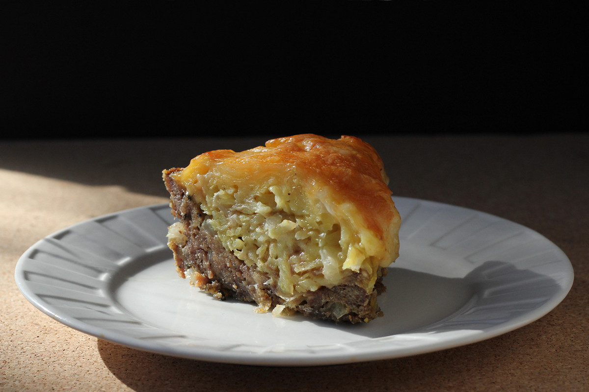 Cookistry: Beef and Potato Pie