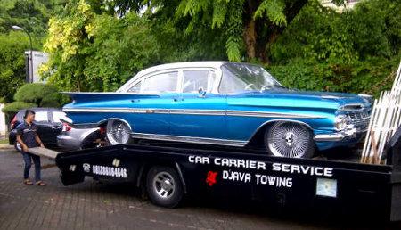 Foto Mobil di Pernikahan Vino dan Marsha