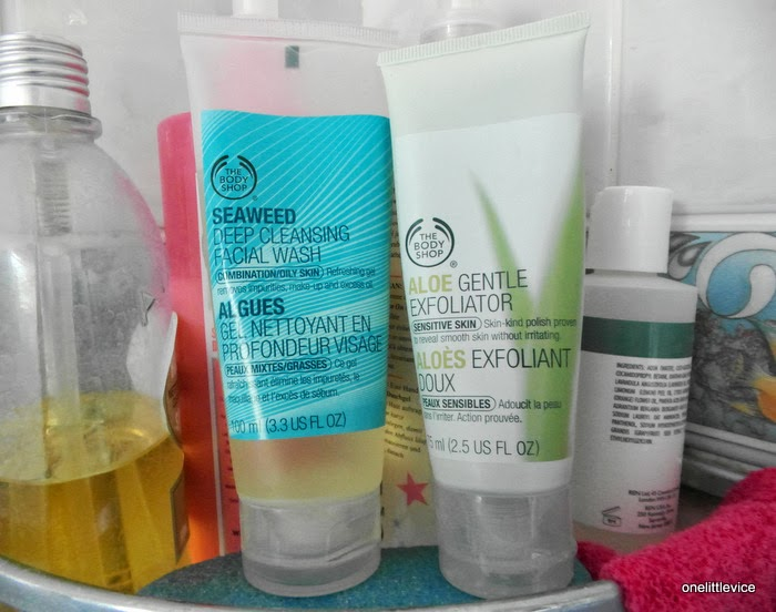 The In-Shower Cleansing and Exfoliating Duo