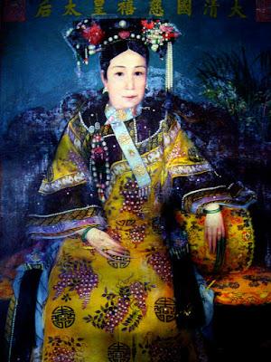 Jung Chang, Cesarzowa wdowa Cixi, Okres ochronny na czarownice, Carmaniola