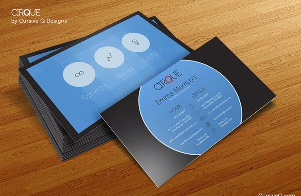 Business Card Template – Cirque