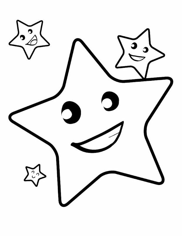 Coloring Pages Of Small Stars In The Sky High. title=