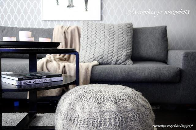 1930-luvun musta sohvapöytä