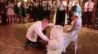 Bride Close To Tears After Her Husband Got Drunk On Their Wedding Day - VIDEO