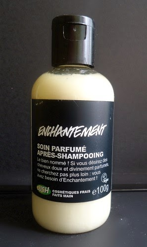 Lush après shampooing l'enchantement