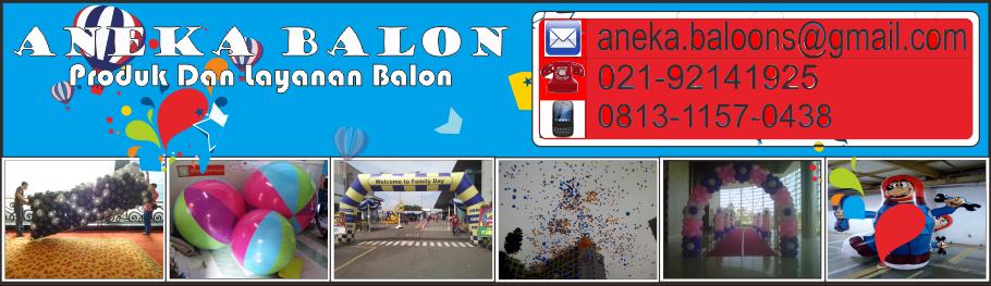 ANEKA BALON / 021-92141925 produk dan layanan balon)