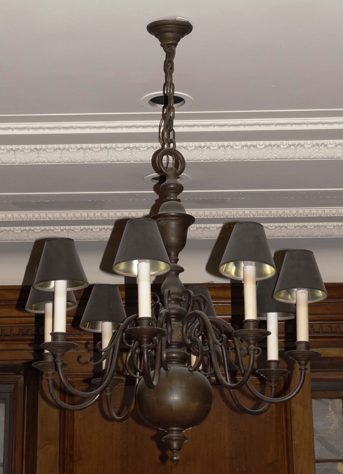 Malcolm Forbes Townhouse's Large Chandelier