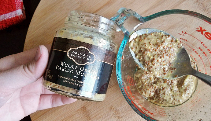 Whole Grain Garlic Mustard