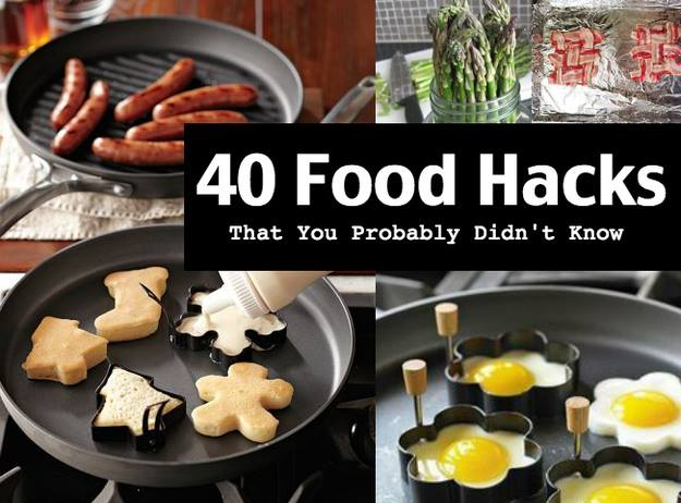 40 creative food hacks that will change the way you cook for 9 kitchen life hacks