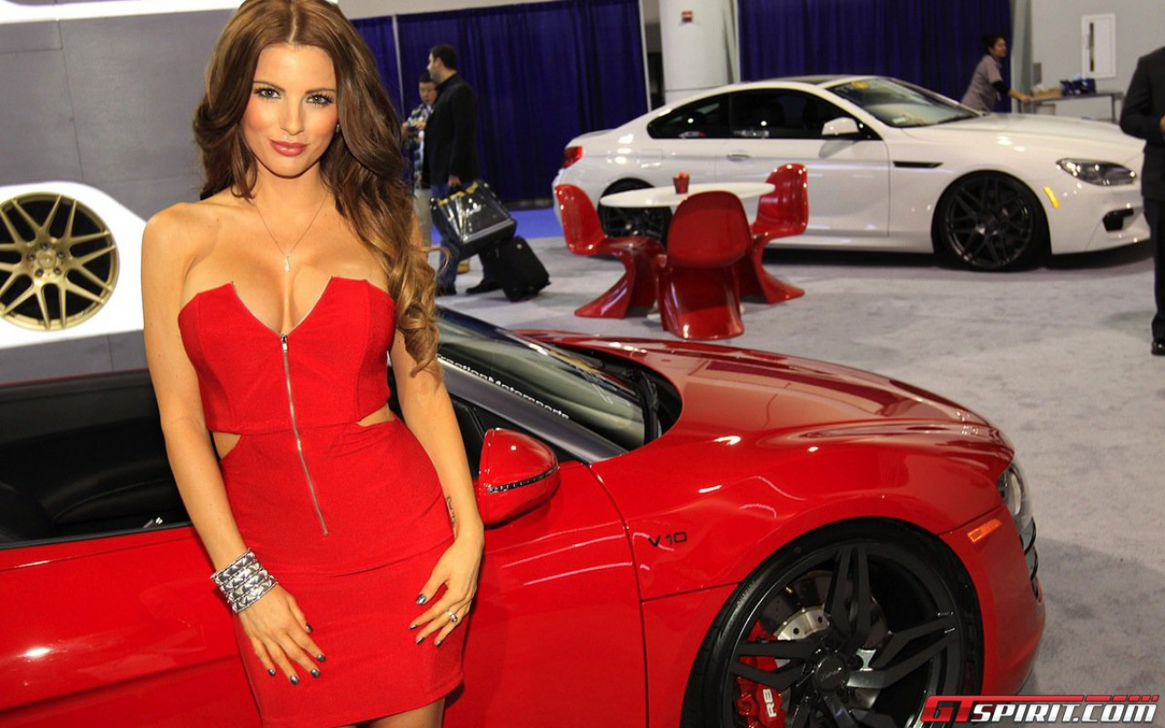 girls and tuner car - photo #7