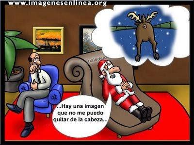 Hay una imagen que no puedo me puedo quitar de la cabeza..., Imagenes Graciosas para Navidad.