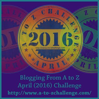 I'm participating in the A to Z April Blog Challenge!