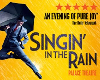 Review  Village s SINGIN  IN THE RAIN Fun but Lacks Spark Limelight Magazine