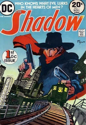 DC Comics' The Shadow #1, Mike Kaluta cover