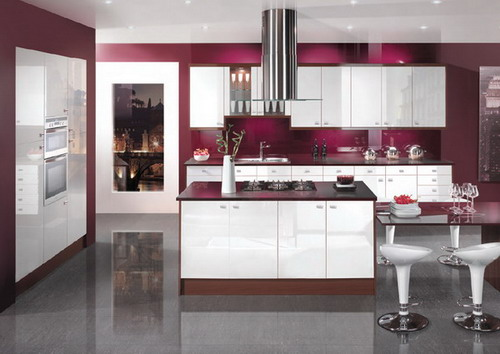 Modern Elegant Interior Kitchen Design