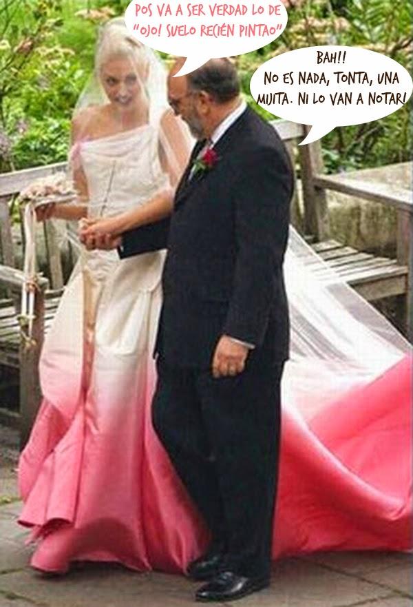 vestidos de novia boda Gwen Stefani hermanas bolena