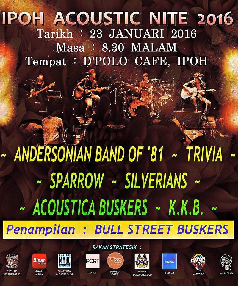 Event Ipoh Acoustic Nite 2016