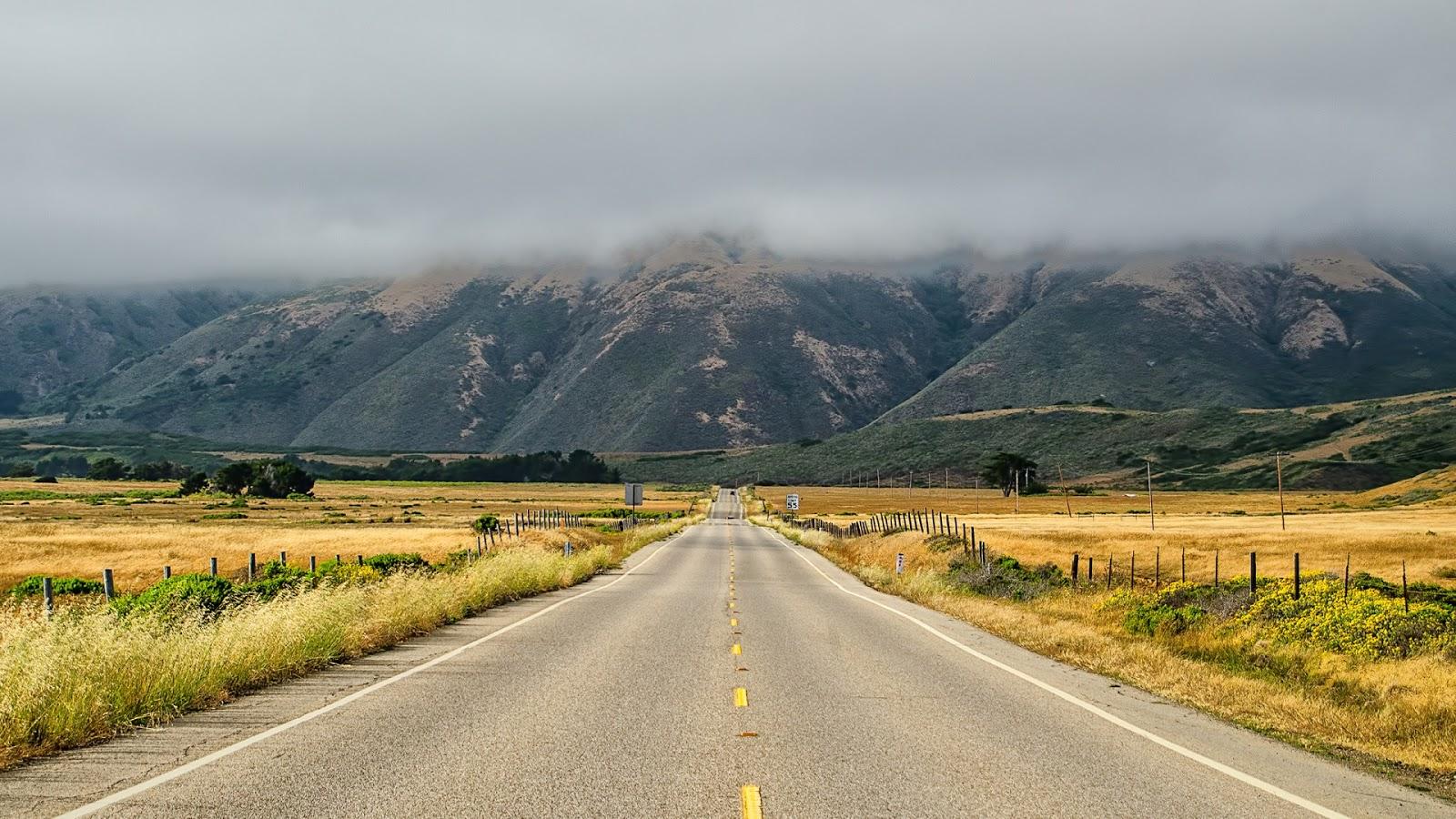 California Landscape Road
