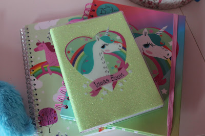 unicorn notebook paperchase