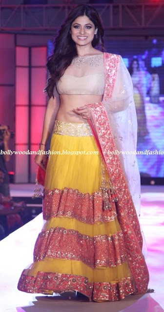 Shamita shetty - on the ramp